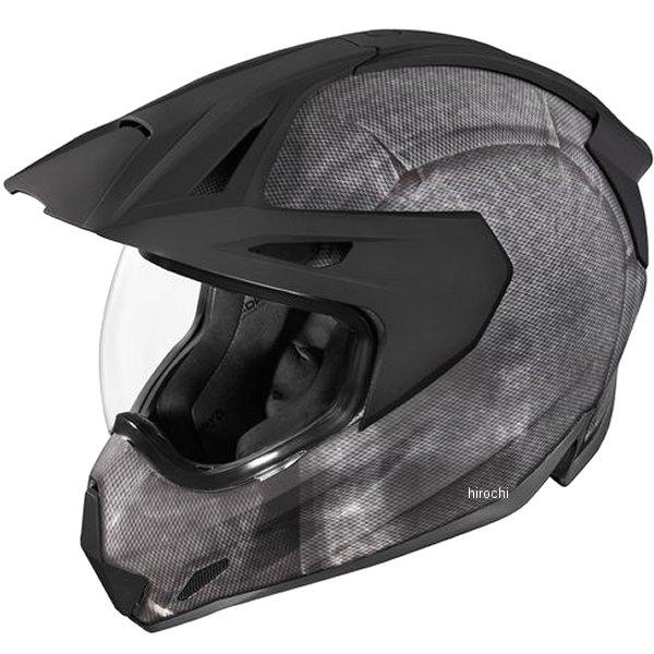 アイコン ICON 2019年秋冬モデル フルフェイスヘルメット VARIANT PRO CONSTRUCT 黒 2XLサイズ 0101-12414 HD店