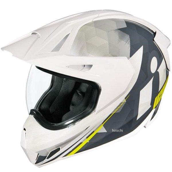 アイコン ICON 2019年秋冬モデル フルフェイスヘルメット VARIANT PRO ASCENSION 白 3XLサイズ 0101-12450 HD店