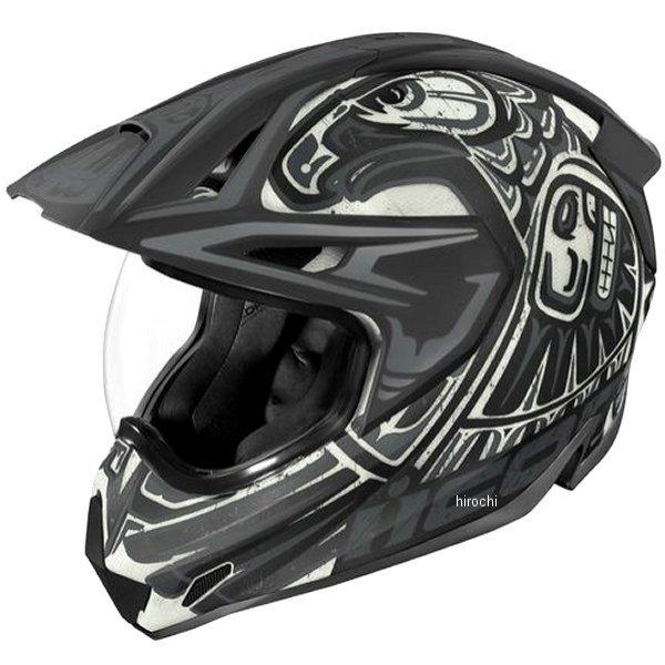 アイコン ICON 2019年秋冬モデル フルフェイスヘルメット VARIANT PRO TOTEM 黒/グレー 2XLサイズ 0101-12456 HD店