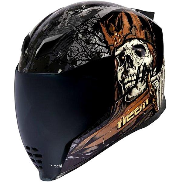 アイコン ICON 2019年秋冬モデル フルフェイスヘルメット AIRFLITE UNCLEDAVE 黒 3XLサイズ 0101-12677 HD店