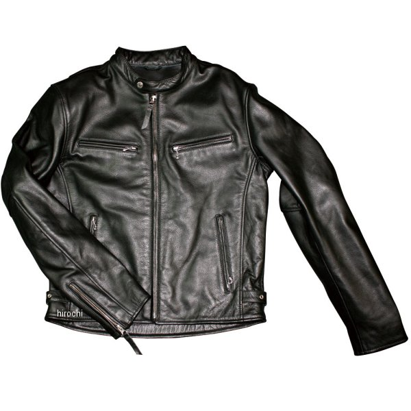 モトフィールド 2019年秋冬モデル シングルライダースレザージャケット 黒 3Lサイズ MF-LJ140 HD店