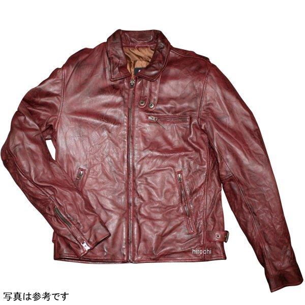 モトフィールド 2019年秋冬モデル ライダースレザージャケット(えり付きビンテージ) ネイビー 3Lサイズ MF-LJ144 HD店