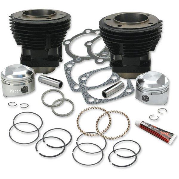 【メーカー在庫あり】 S&Sサイクル S&S Cycle シリンダー/標準圧縮ピストンキット ハーレー標準ボア80