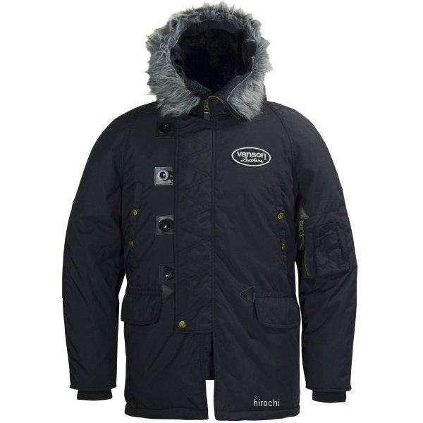 バンソン VANSON 2019年秋冬モデル ナイロンジャケット 黒/黒 L2Wサイズ VS19109W HD店