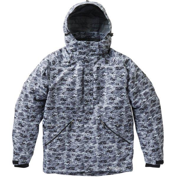 カワサキ純正 2019年秋冬モデル 3レイヤーWPジャケット Lサイズ カモフラージュ J8001-2803 HD店