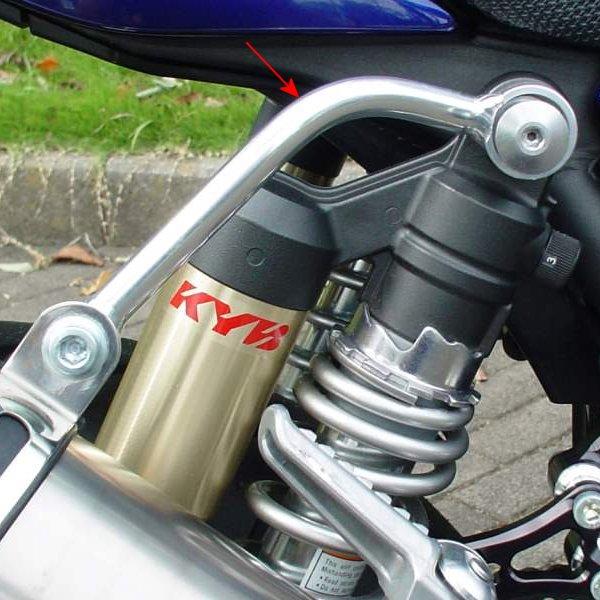 ストライカー STRIKER リペア サイレンサーステー SSTアップ用 ZRX1200、ZRX1100 0SS4012 HD店