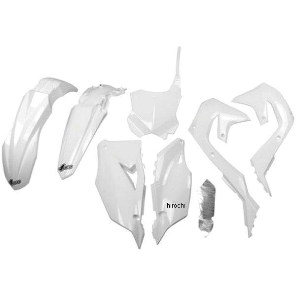 【USA在庫あり】 UFO PLAST ユーフォープラスト BODY KIT KX450F WHITE 1403-2701 HD店