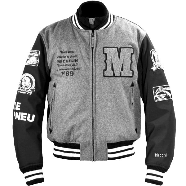 ミシュラン MICHELIN 2019年秋冬モデル アワードジャケット グレー/黒 L2Wサイズ ML19110W HD店