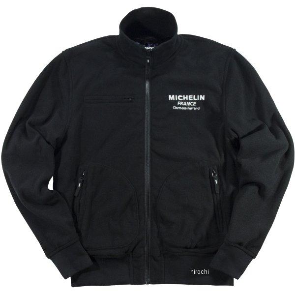 ミシュラン MICHELIN 2019年秋冬モデル フリースジャケット 黒 2XLサイズ ML19401W HD店