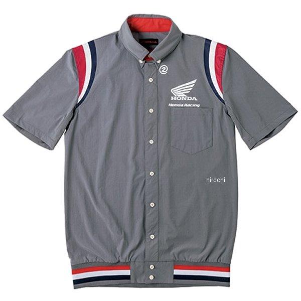 ホンダ純正 2019年秋冬モデル 裾リブピットシャツ SS グレー Lサイズ 0SYEL-15F-N HD店