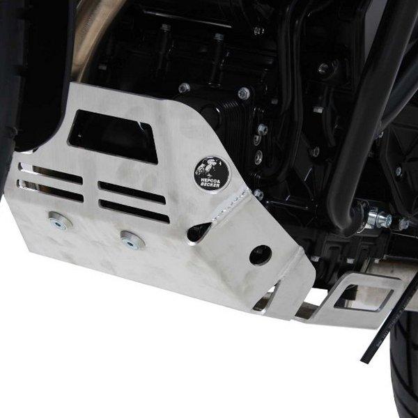 ヘプコアンドベッカー HEPCO&BECKER エンジン アンダーガード 08年-11年 F650GS シルバー 810653 00 12 HD店