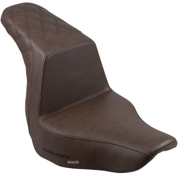 【USA在庫あり】 サドルメン Saddlemen SEAT STEP UP LS PASS BRN 0802-1038 HD