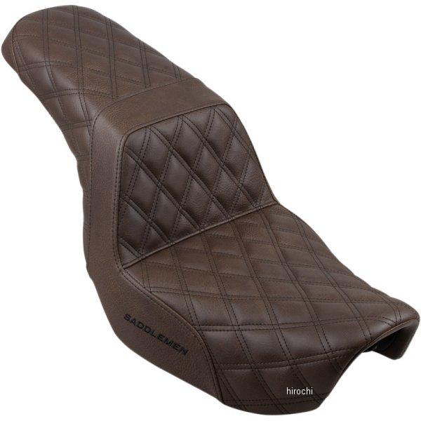 【USA在庫あり】 サドルメン Saddlemen SEAT STEP UP LS BRN DYNA 0803-0589 HD