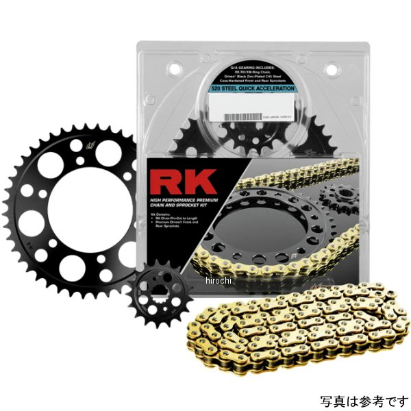 【USA在庫あり】 アールケー RK CHAIN SPROCKET KIT SUZUKI 182210 HD
