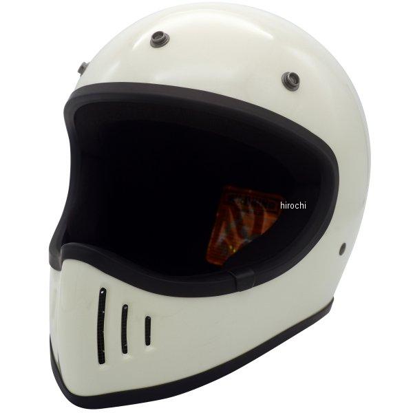 ダムトラックス DAMMTRAX フルフェイスヘルメット BLASTER-改 ブラスター-カイ オフホワイト Lサイズ(59cm-60cm) 4560185906796 HD店
