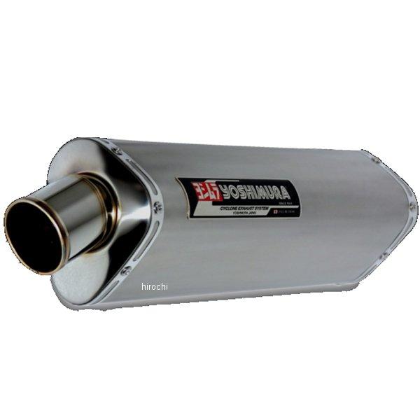 ヨシムラ レーシングチタン TRI-OVALサイクロン 4-2-1 410mm フルエキゾースト 11年以降 GSX-R600 (TT) 150-571-8380 HD店