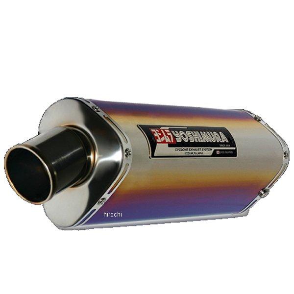 ヨシムラ レーシングチタン TRI-OVALサイクロン 4-2-1 410mm フルエキゾースト 11年以降 GSX-R600 (TTB) 150-571-8380B HD店