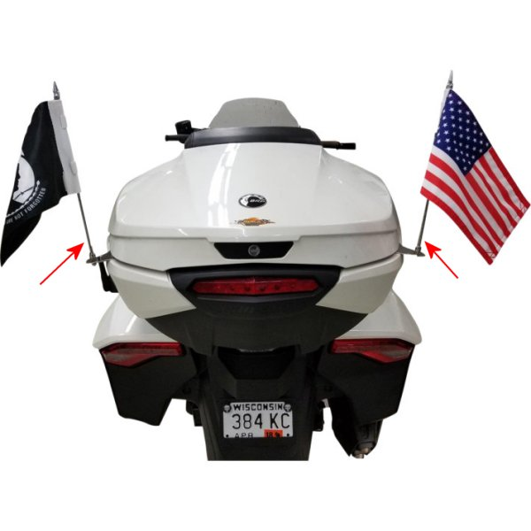 【USA在庫あり】 リブコ プロダクト RIVCO Products FLAG HOLDER SPYDER F3 2030-1250 HD店