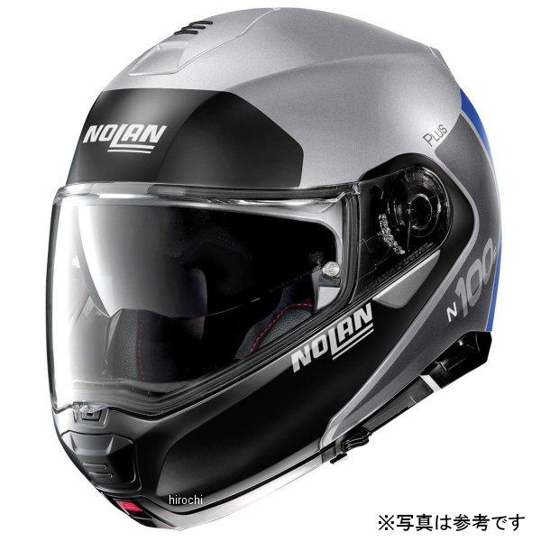 ノーラン NOLAN システムヘルメット N100-5 Plus Destinctive 30 フラットシルバー Lサイズ 16590 HD店