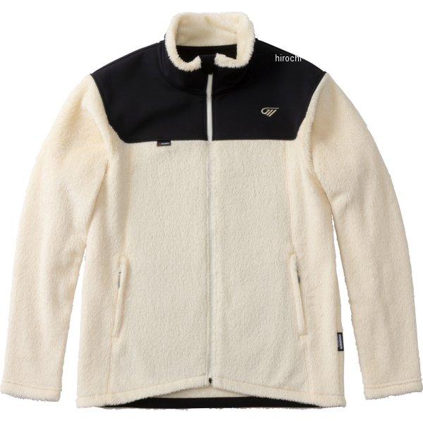 ゴールドウイン GOLDWIN 2019年秋冬モデル ハイブリッドフリースジャケット オフ白 XLサイズ GSM24951 HD店