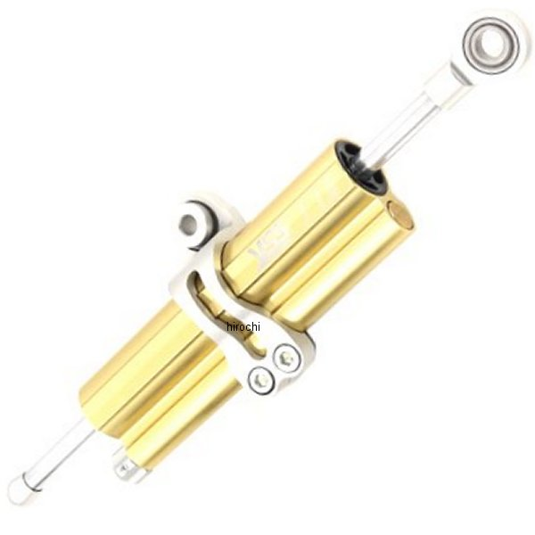 ワイエスエス YSS ステアリングダンパー 全長120mm 17年以降 トライアンフ ボンネビルT100 ゴールド 124-9320074