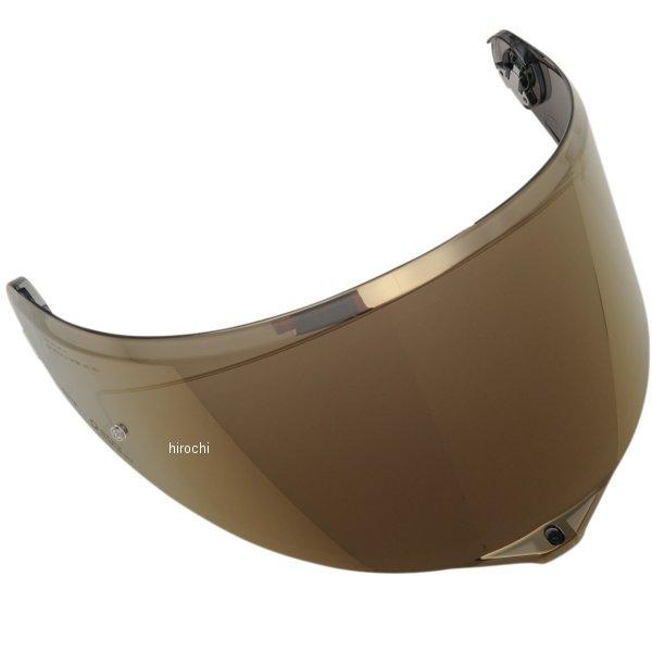 【メーカー在庫あり】 エージーブイ AGV シールド GT3-1 AS P.R イリジウムゴールドS/M/Lサイズ KV27B5N9003-2FPL HD店