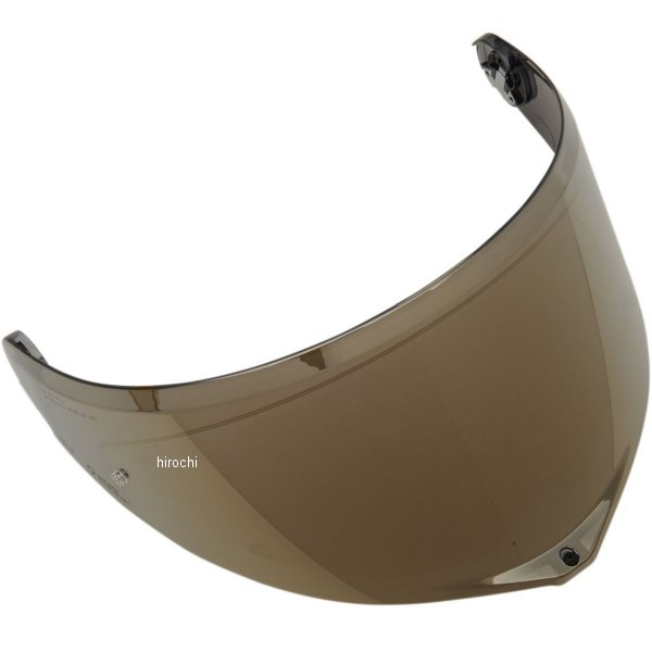 【メーカー在庫あり】 エージーブイ AGV シールド GT3-2 AS P.R イリジウムゴールド XL/2XL/3XLサイズ KV27B6N9003-2FPL HD店