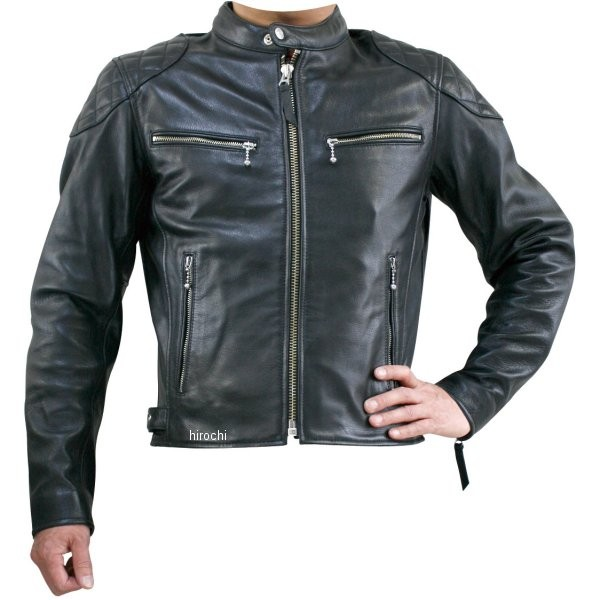 プライマル 秋冬モデル シングルレザージャケット 黒 Mサイズ PLJ05-BK-M HD店