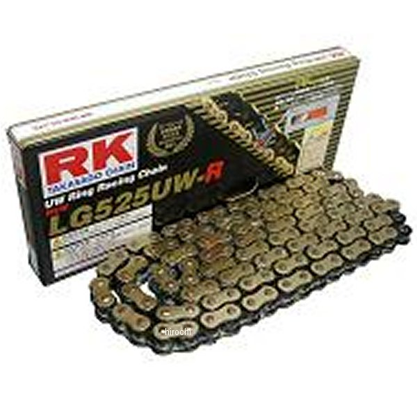 【メーカー在庫あり】 RKエキセル LG525UWR-120 LGレーシングシリーズ チェーン (120L) LG525UW-R120 HD店