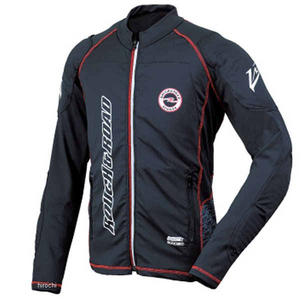 ラフ&ロード 2020年春夏モデル アーマージャケット パッドセット スラント 黒 LLサイズ RR7550PSSL-BK4 HD店