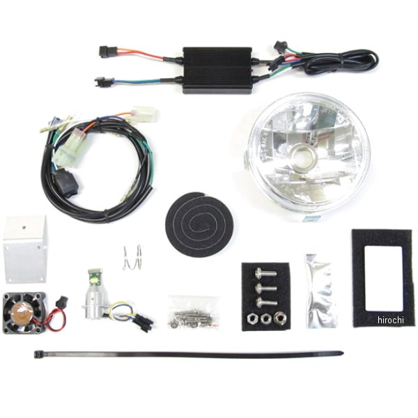 プロテック PROTEC マルチリフレクターヘッドライト LBH-H07 6000K CC110 64006-60 HD店