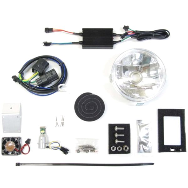 プロテック PROTEC マルチリフレクターヘッドライト LBH-H18 3000K CC50 64009-30 HD店