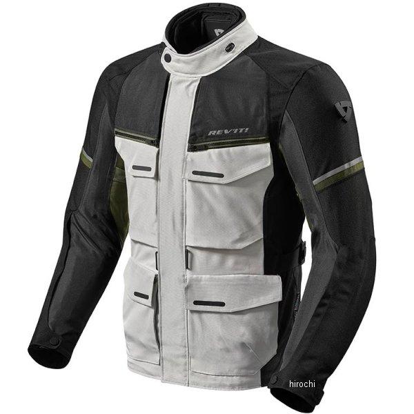 レブイット REVIT アウトバック3 ジャケット シルバー/緑 XLサイズ FJT262-4080-XL HD店