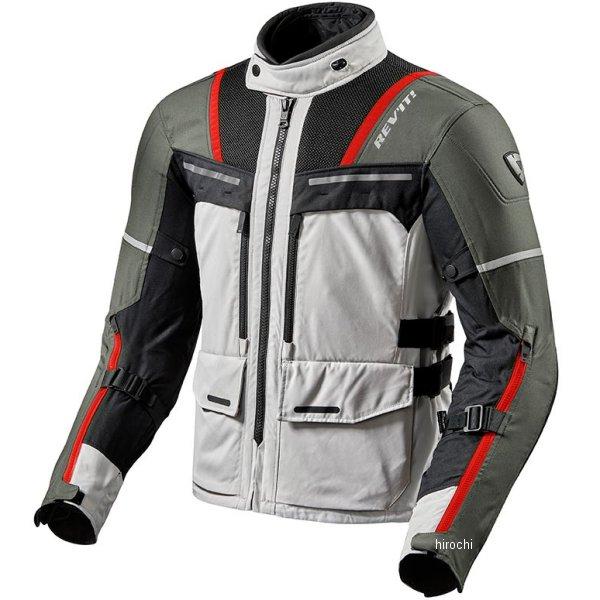 レブイット REVIT オフトラック ジャケット シルバー/赤 XLサイズ FJT265-4020-XL HD店