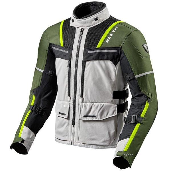 レブイット REVIT オフトラック ジャケット シルバー/緑 XLサイズ FJT265-4080-XL HD店