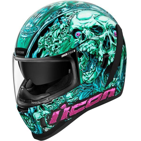 アイコン ICON フルフェイスヘルメット AIRFORM PARAHUMAN 青 2XL 0101-13075 HD店
