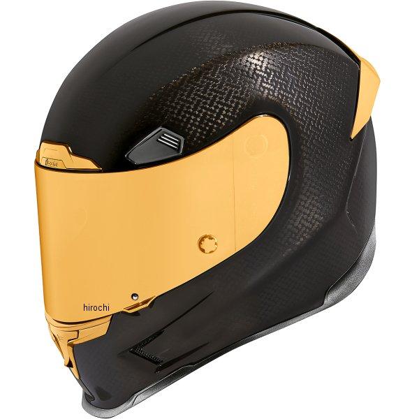 アイコン ICON フルフェイスヘルメット AIRFRAME PRO CARBON ゴールド LGサイズ 0101-13245 HD店