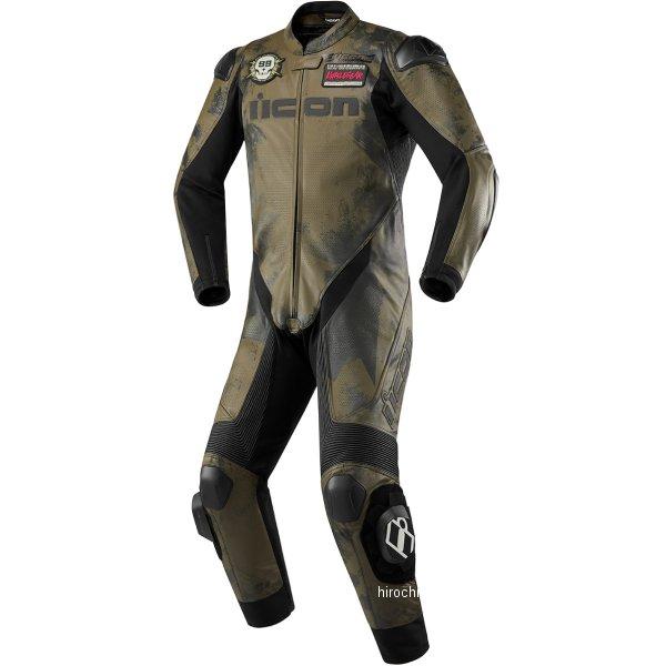 アイコン ICON 2020年春夏モデル ライディングスーツ HYPERSPORT BATTLESCAR カモ 50サイズ 2801-1425 HD店