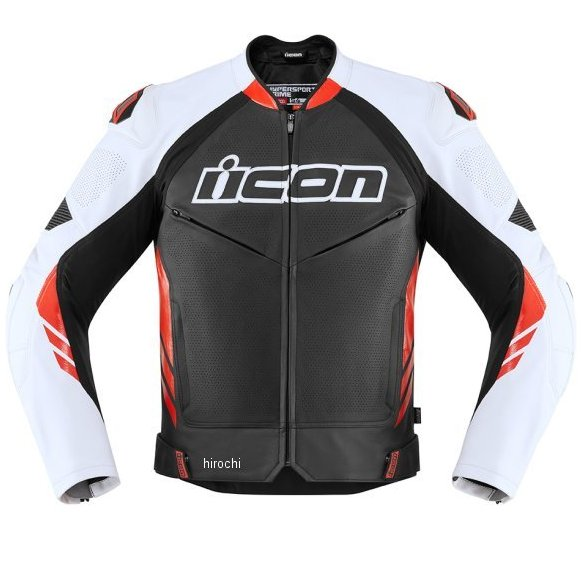 アイコン ICON 2020年春夏モデル ジャケット HYPERSPORT2 PRIME 黒/赤 52サイズ 2810-3643 HD店