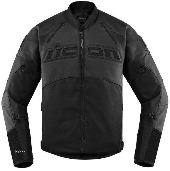 アイコン ICON 2020年春夏モデル ジャケット CONTRA2 LEATHER 黒 SMサイズ 2810-3648 HD店