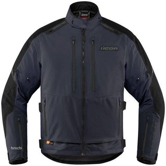 アイコン ICON 2020年春夏モデル ジャケット RAIDEN 青 XLサイズ 2820-4999 HD店