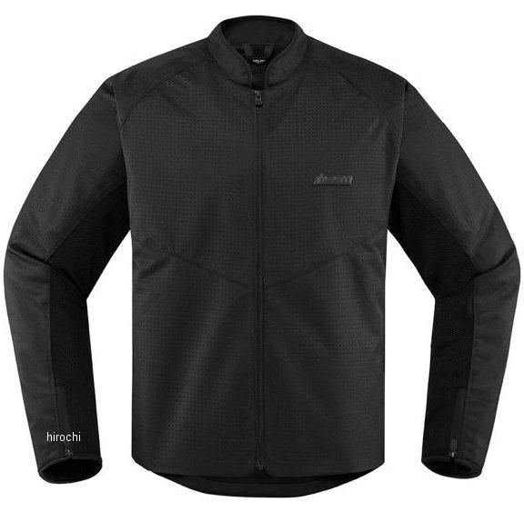 アイコン ICON 2020年春夏モデル ジャケット HOOLIGAN PERFORATED 黒 XLサイズ 2820-5278 HD店