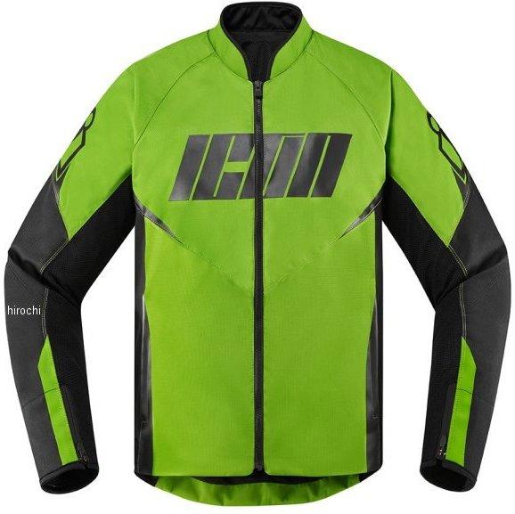 アイコン ICON 2020年春夏モデル ジャケット HOOLIGAN 緑 MDサイズ 2820-5290 HD店
