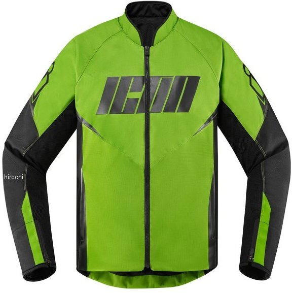 アイコン ICON 2020年春夏モデル ジャケット HOOLIGAN 緑 3XLサイズ 2820-5294 HD店