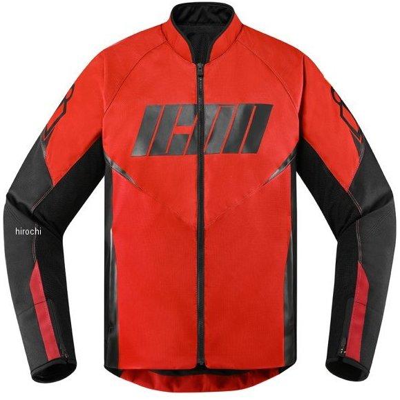 アイコン ICON 2020年春夏モデル ジャケット HOOLIGAN 赤 2XLサイズ 2820-5307 HD店
