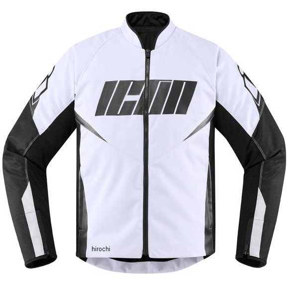 アイコン ICON 2020年春夏モデル ジャケット HOOLIGAN 白 2XLサイズ 2820-5314 HD店