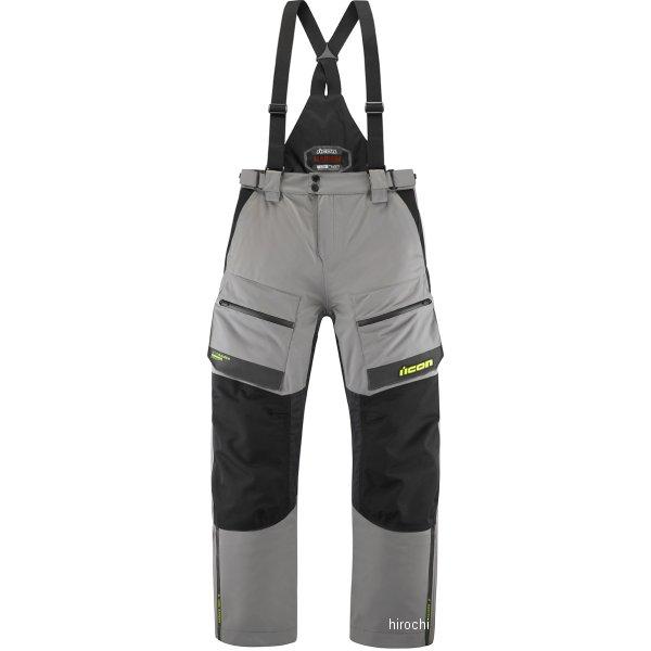 アイコン ICON 2020年春夏モデル パンツ RAIDEN グレー/HIVIZ XLサイズ 2821-1155 HD店