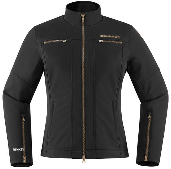 アイコン ICON 2020年春夏モデル ジャケット HELLA2 レディース 黒 MDサイズ 2822-1266 HD店