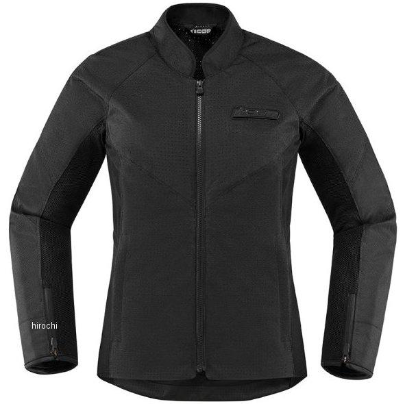アイコン ICON 2020年春夏モデル ジャケット HOOLIGAN レディース PERFORATED 黒 MDサイズ 2822-1331 HD店