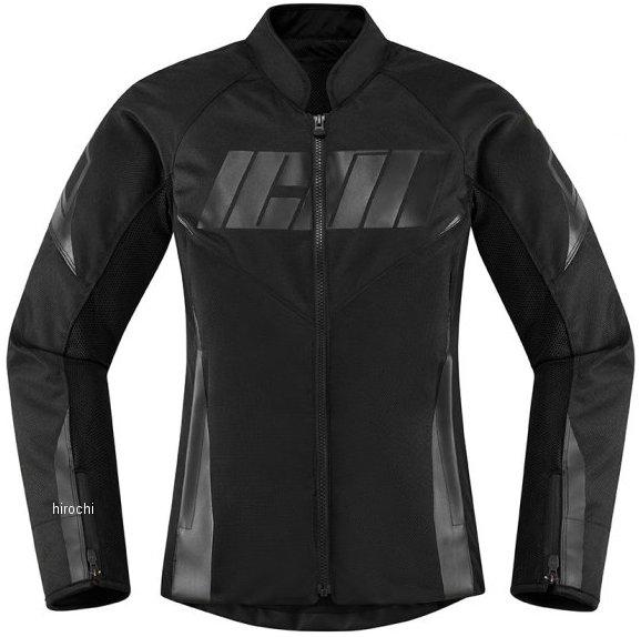 アイコン ICON 2020年春夏モデル ジャケット HOOLIGAN レディース 黒 SMサイズ 2822-1337 HD店
